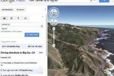 """В Google Maps появился """"вид с вертолета"""""""