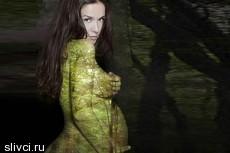 Наталья Орейро разделась на восьмом месяце беременности