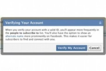 В Facebook введут подтвержденные профили