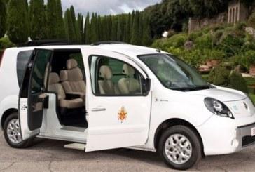 Электромобиль от Renault для Папы Римского