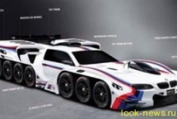 BMW придумала машину с 42 колесами