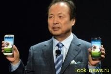 Новый смартфон Galaxy S4 от Samsung управляется глазами