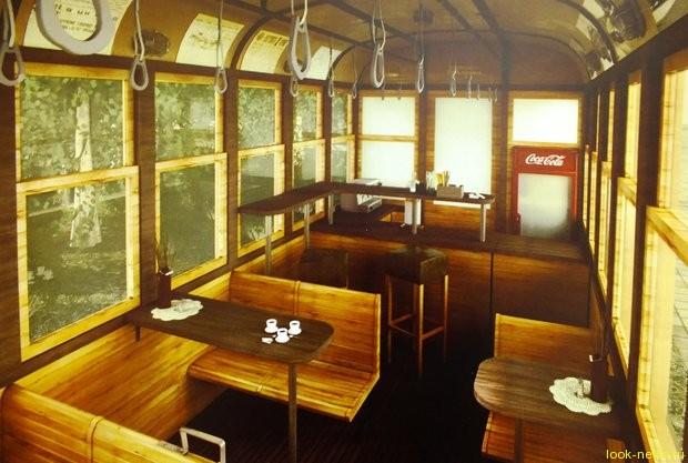 В историческом центре Минска появится кафе-трамвай