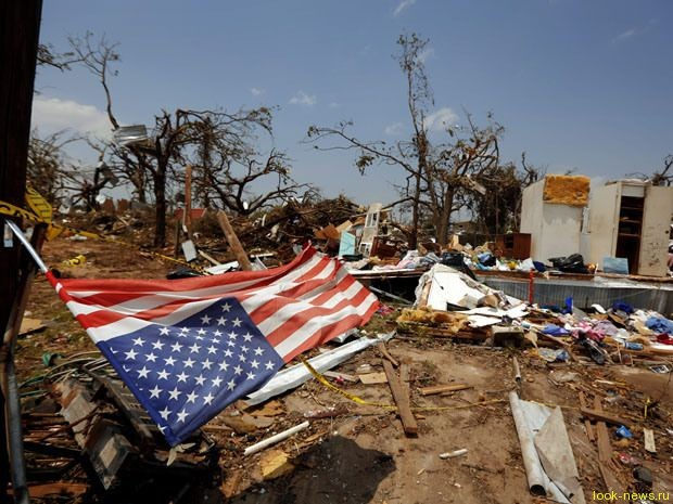 На США обрушились 20 торнадо, есть жертвы