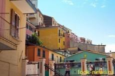 Манарола - цветной город на скале
