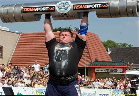 самый сильный человек в мире – это Жидрунас Савицкас