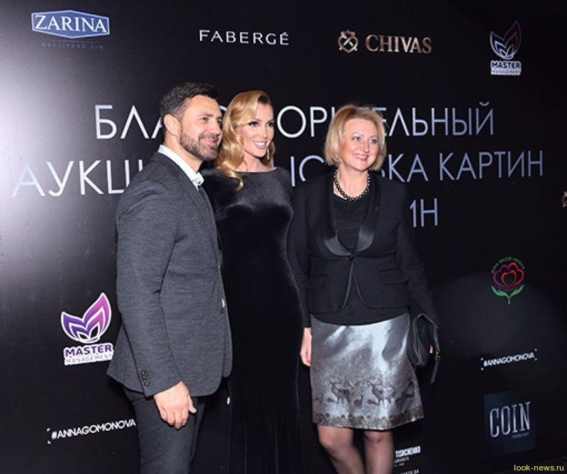 Анна Гомонова за вечер собрала 100 000 гривен для помощи онкобольным детям