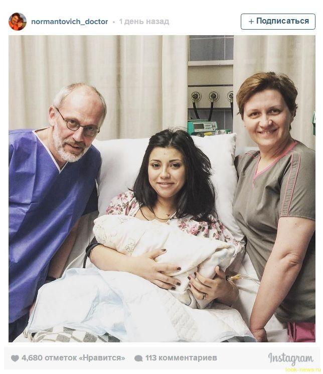Молодая жена Александра Гордона родила второго ребенка