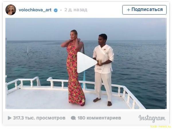 Анастасия Волочкова обнажилась в ответ на критику