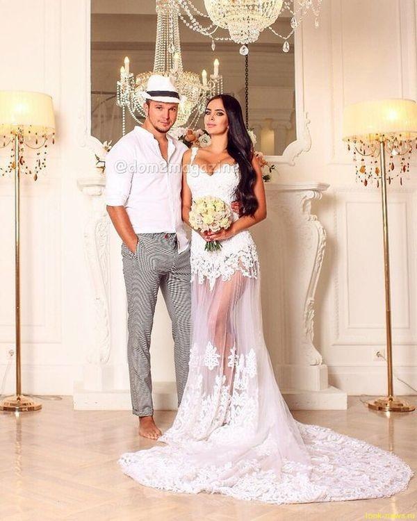 Антон Гусев и Виктория Романец сыграли тайную свадьбу