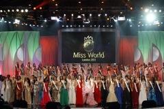 """Конкурс \""""Мисс Мира 2011\"""" в Лондоне"""