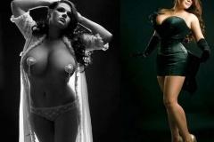 Мария Зарринг - самая большая грудь России