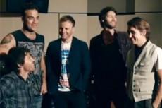 Робби Уильямс записал с группой Take That новый альбом
