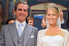 Свадьба греческого принца Николаоса и Татьяны Блатник