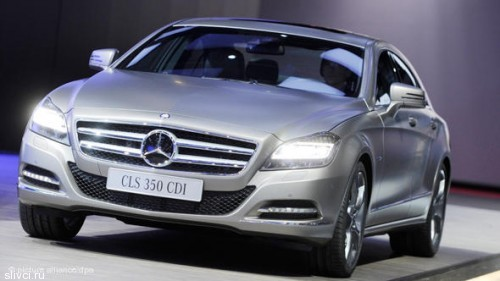 Mercedes-Benz CLS поразил воображение и дизайном и расходом топлива