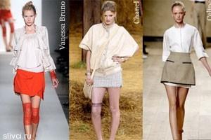 Тенденции 2011 года - Модные юбки