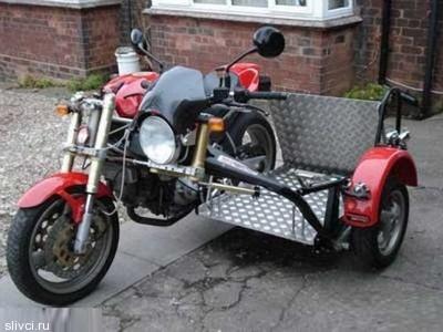 англичанин, который приспособил Ducati 900 Monster под себя