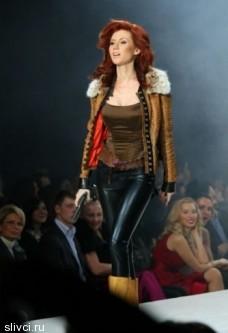 Дима Билан и Анна Чапман Volvo-недели моды в Москве