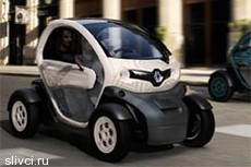 Renault Twizy – электромобиль за 7 тысяч евро