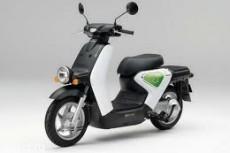 В Барселоне испытывают электромотоцикл Honda