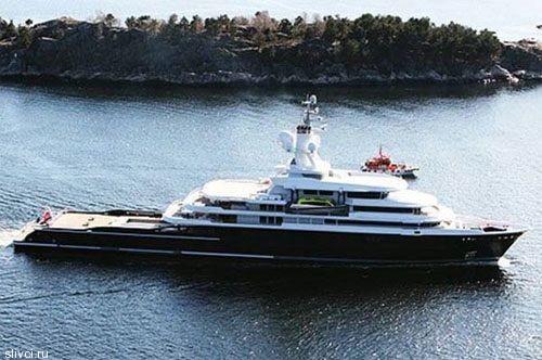 115-метровая яхта Luna