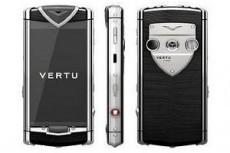 Vertu выпустит смартфон с сенсорным экраном