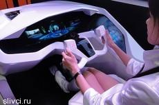 Mitsubishi представила футуристическую систему управления автомобилем