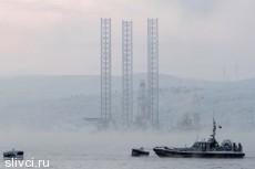 """Буровая платформа """"Кольская"""" затонула. Спасены лишь 14 человек."""