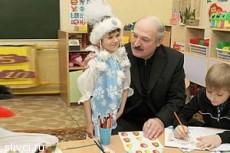 Лукашенко обозвала дураком девочка из детдома
