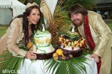 Блёданс сыграла свадьбу на Маврикии