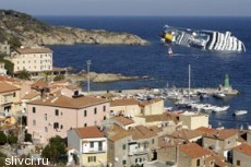В аварии лайнера Costa Concordia пострадало около сорока человек