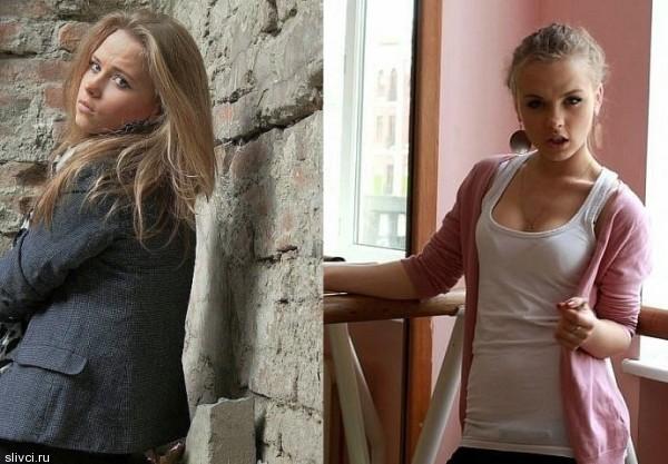 Анна Кошмал до съемок в сериале «Сваты 5» была самой натуральной блондинкой