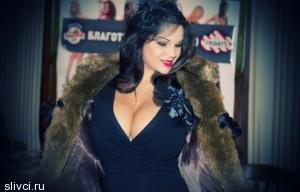 Мария Зарринг - самая большая натуральная грудь России - Без силикона!