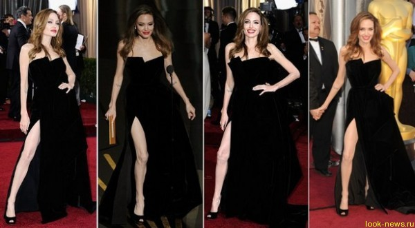 Правая нога Анджелины Джоли стала звездой Twitter
