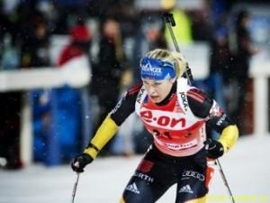 Нойнер выиграла спринт в Ханты-Мансийске