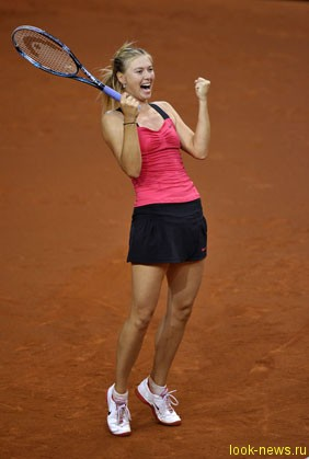 Мария Шарапова стала победительницей теннисного турнира в немецком Штутгарте