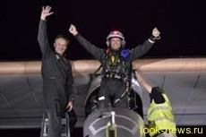 Самолет на солнечных батареях Solar Impulse