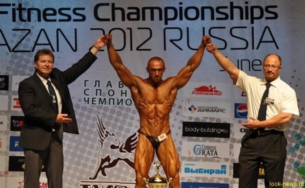 Сергей Матусевич, сотрудник спецподразделения полка ППСМ, одержал победу на Чемпионате мира по бодибилдингу и фитнесу в Казани