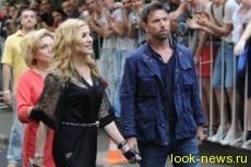 В Москве Мадонну встретили нецензурной бранью