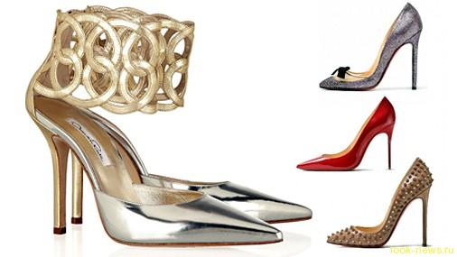 Модная обувь осень–зима 2012/13: рептилии и бархат