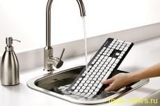 Клавиатуру Logitech можно мыть под краном