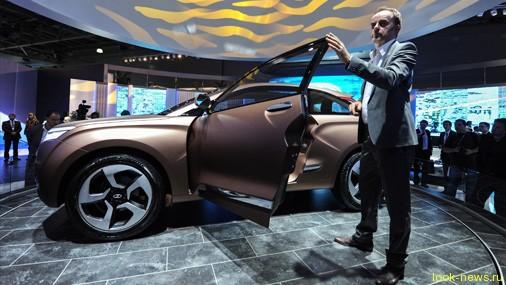 Неожиданный концепт-кар внедорожника Lada XRAY от АвтоВАЗа