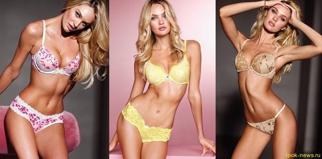 Кендис Свейнпул в фотосессии нижнего белья для Victoria's Secret