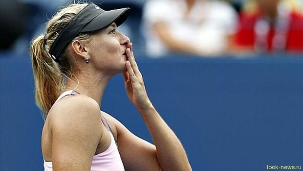 Мария Шарапова вышла в полуфинал US Open