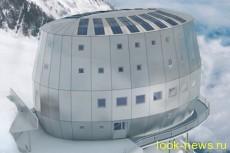 Над пропастью в Альпах построен самый высокий отель Европы