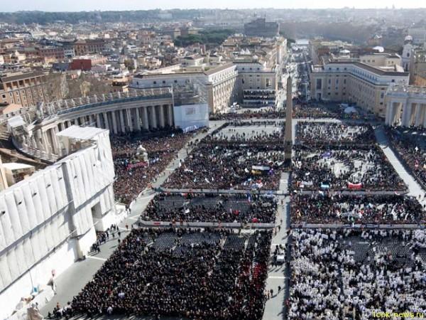 Ватикан - Интронизация Папы Франциска