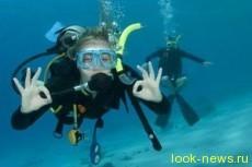 Погружение с аквалангом на Красном море