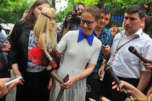 Ксения Собчак устроила распродажу старой одежды