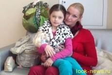 Анастасия Волочкова боится за дочь