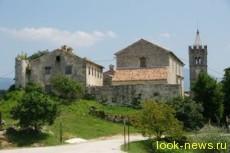 Самый маленький город в мире. Хум. Хорватия